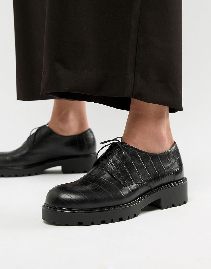 75cf663184d Up In Lace Kenova Moc Shoes Croc Lyst Black Leather Vagabond w7X0Rq ...