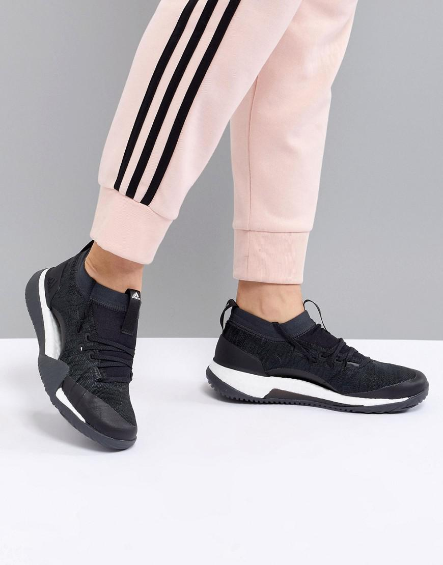 Adidas Black X Shoes Pureboost Fitness Tr Lyst In 0 3 OmNny8wv0