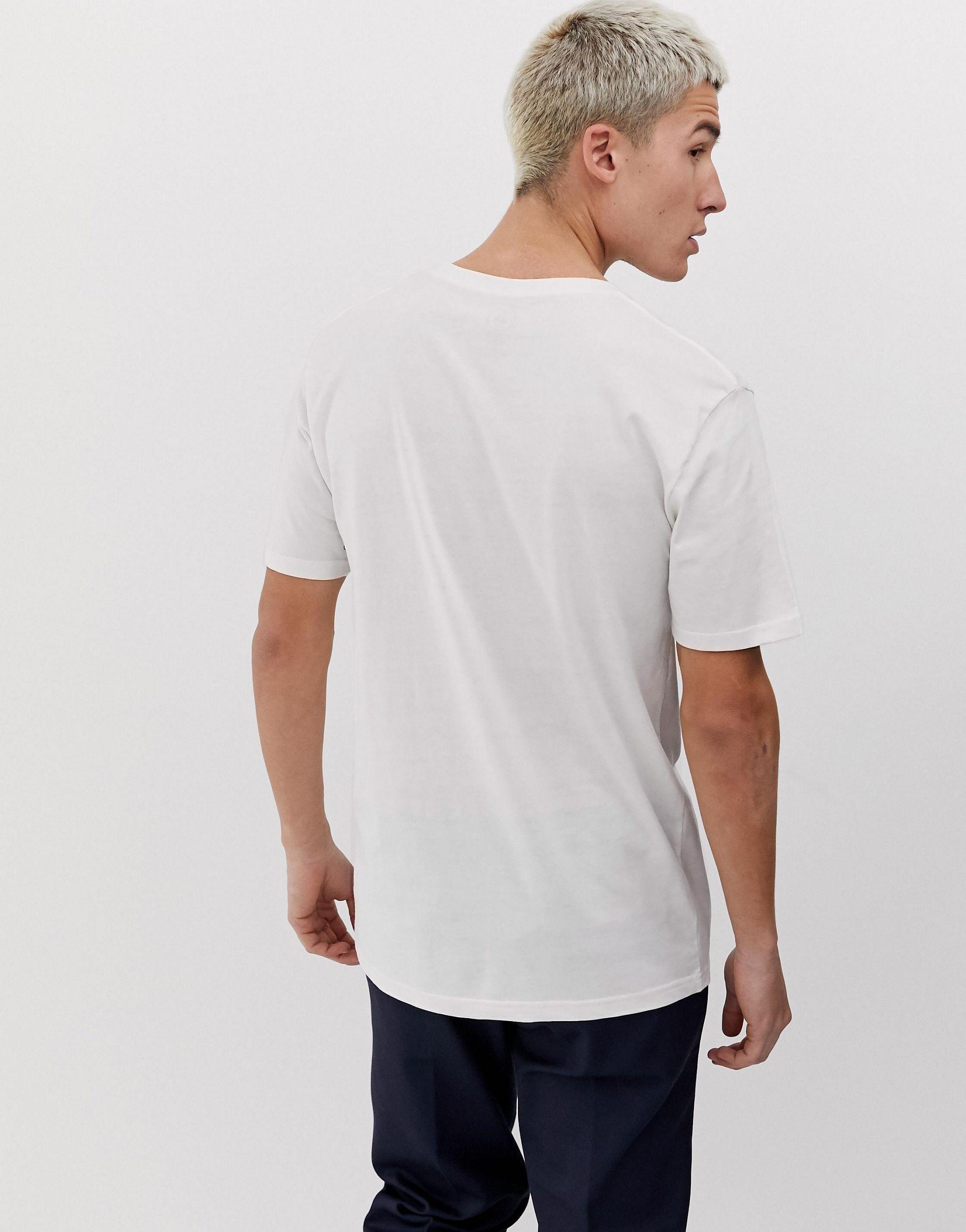 Volcom Wol Ozzy - Regenboog T-shirt Met Print Op in het Wit voor heren