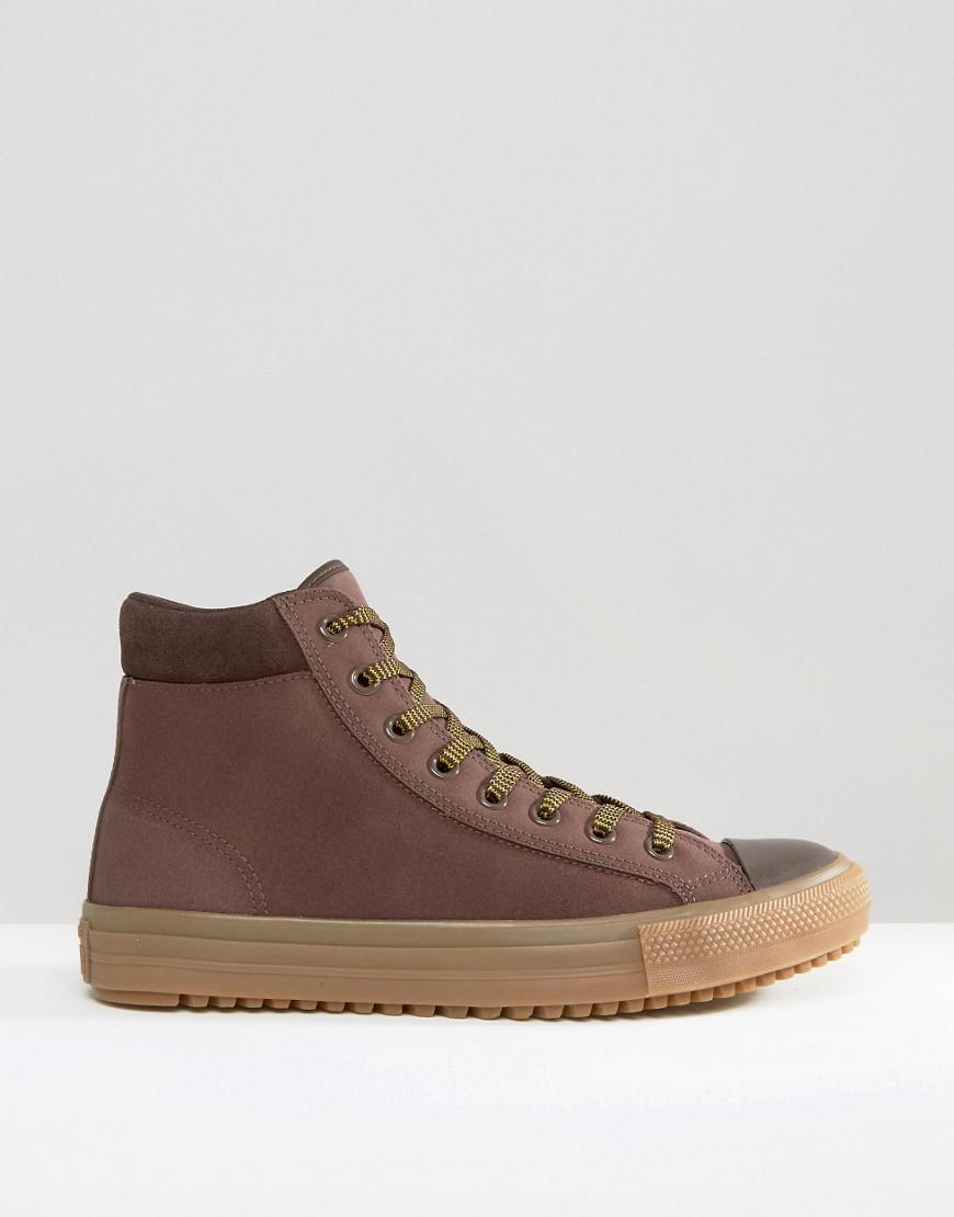 Converse Chuck Taylor All Star Boot Pc Plimsolls In Brown 153674c 219 for men