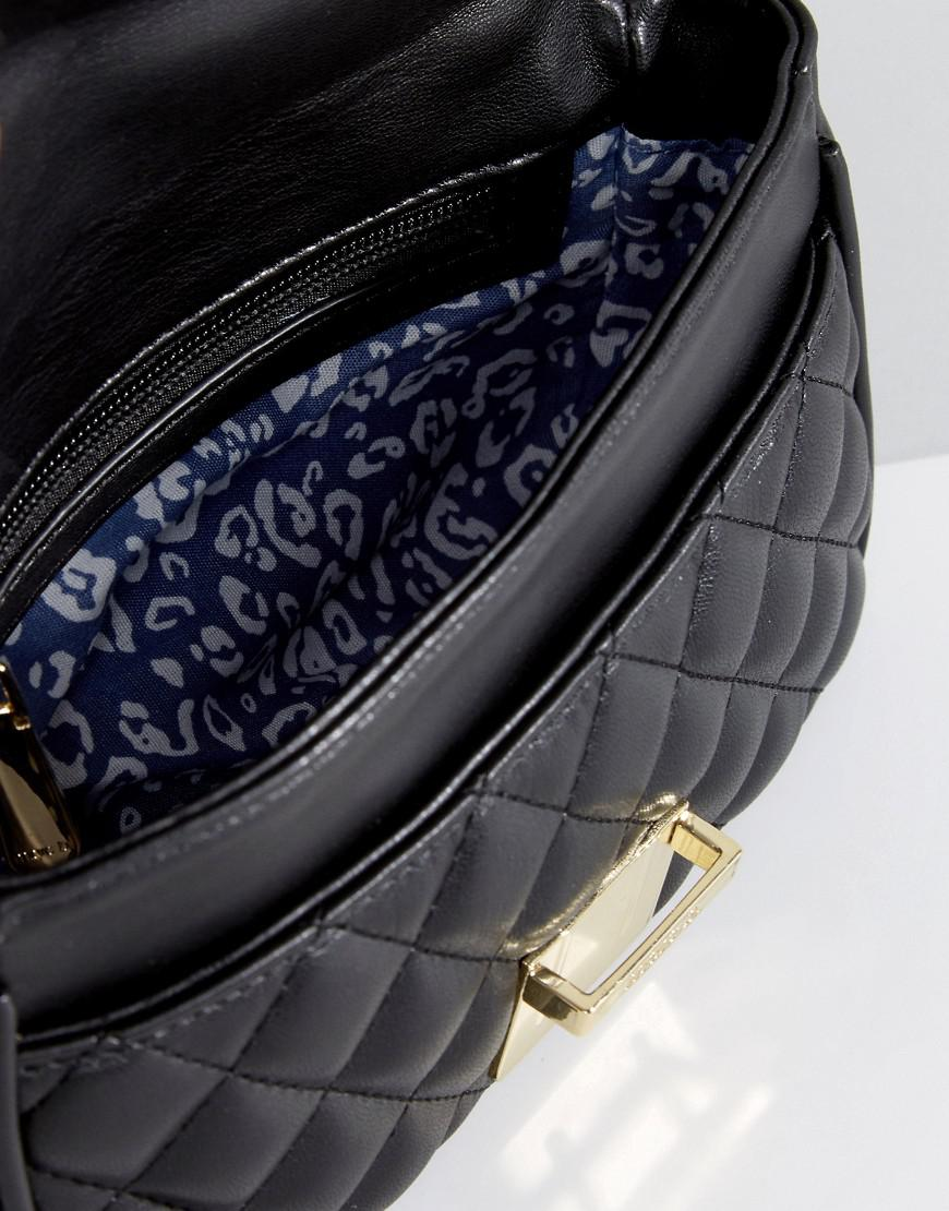 Marc B. Pennie Quilted Cross Body Bag In Black