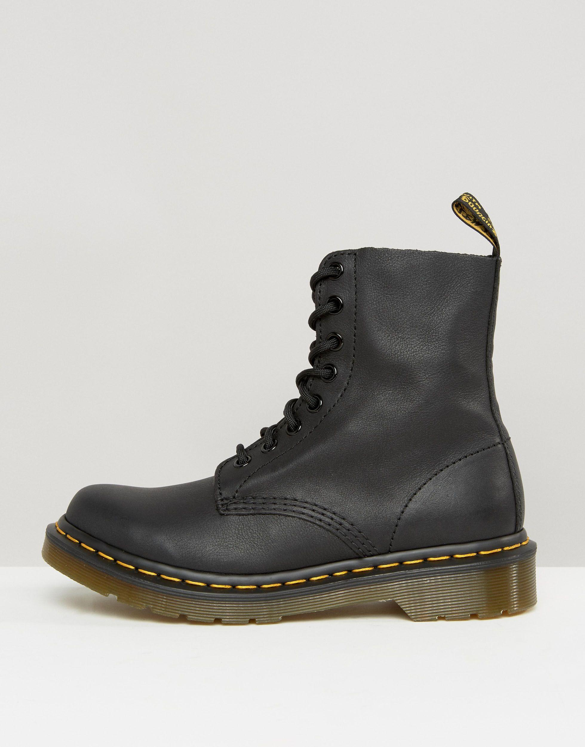 Dr. Martens 1460 Pascal 8 Eye Boots in Black