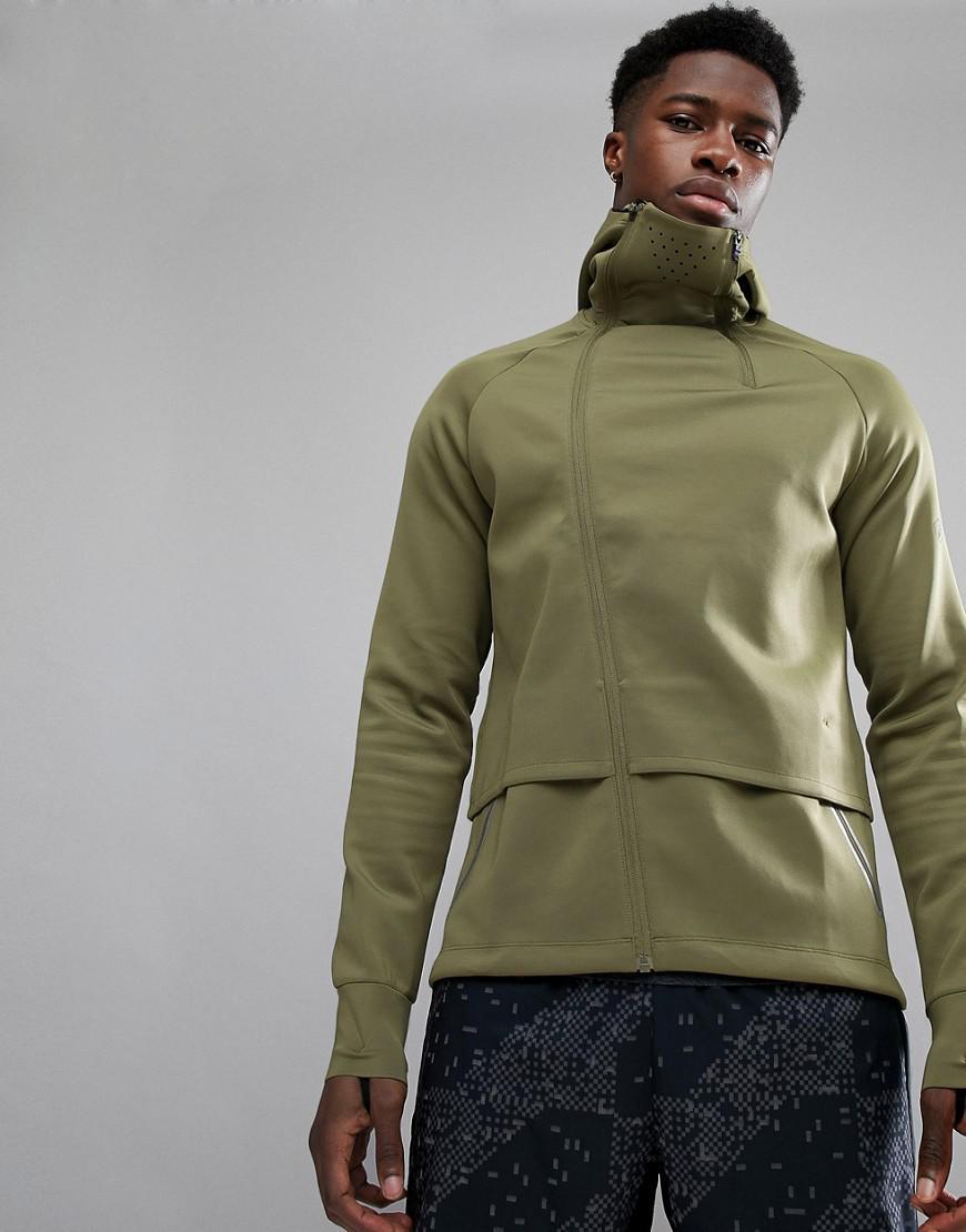 asics core running jacket