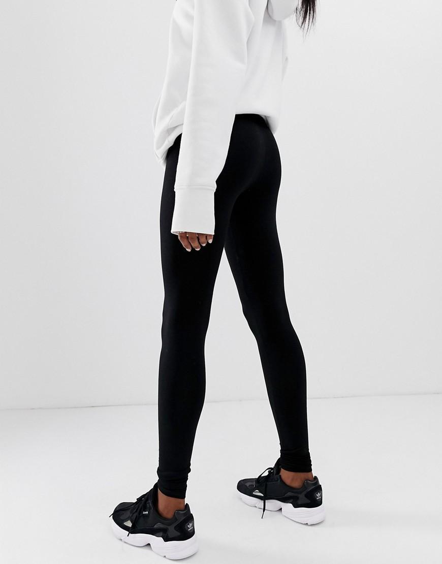 b59a521113141c ASOS - Asos Design Tall High Waisted leggings In Black - Lyst. View  fullscreen