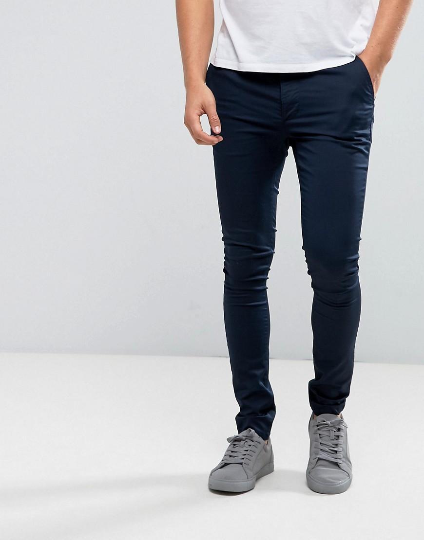pantalon homme ultra skinny