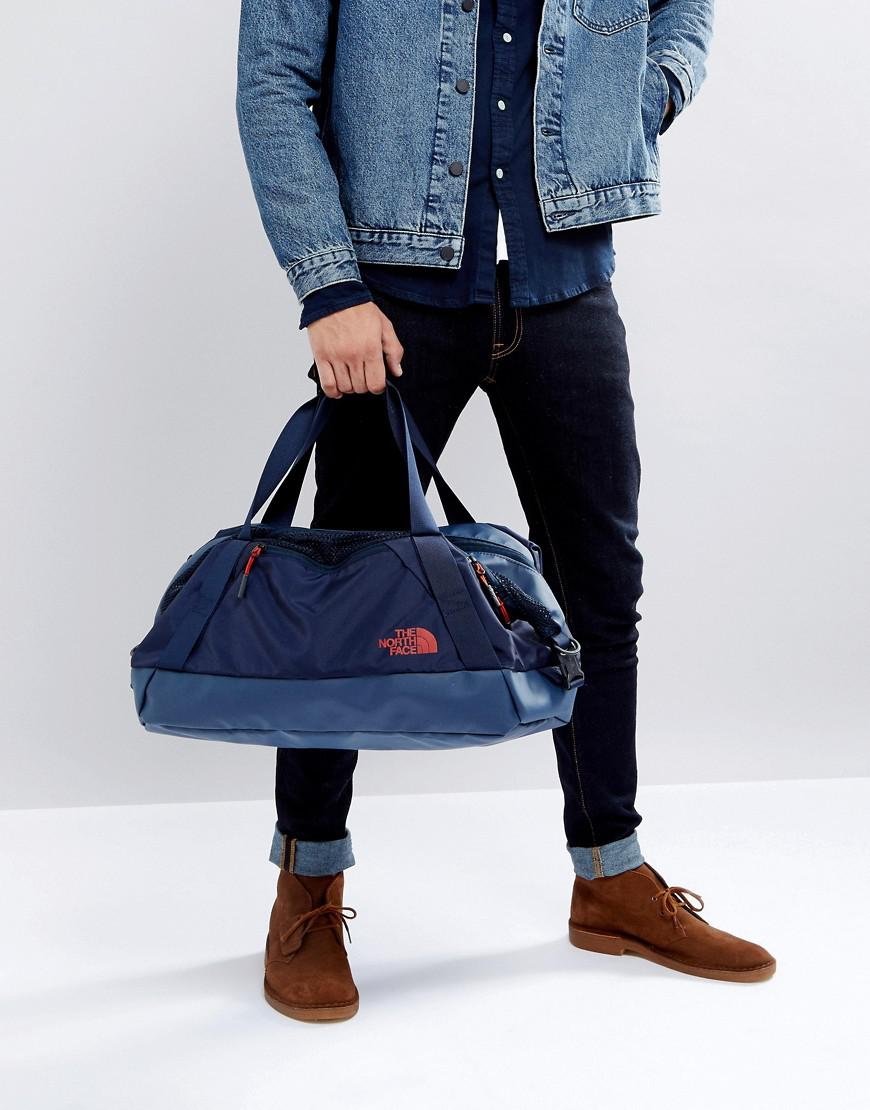 b2ca075df The North Face Blue Apex Duffel Bag Small 32 Litres In Navy for men