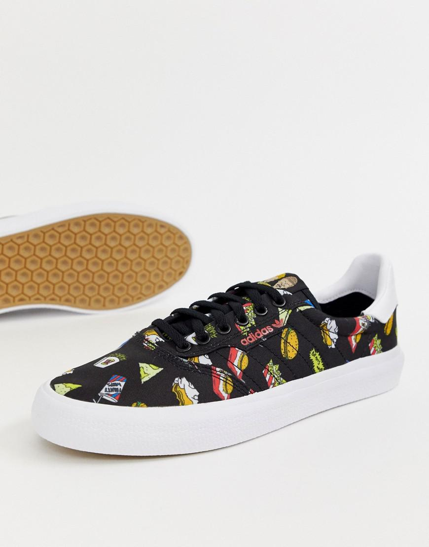 pretty nice aa205 614a4 adidas Originals. Mens Black Beavis And Butthead 3mc Sneakers Bd7861