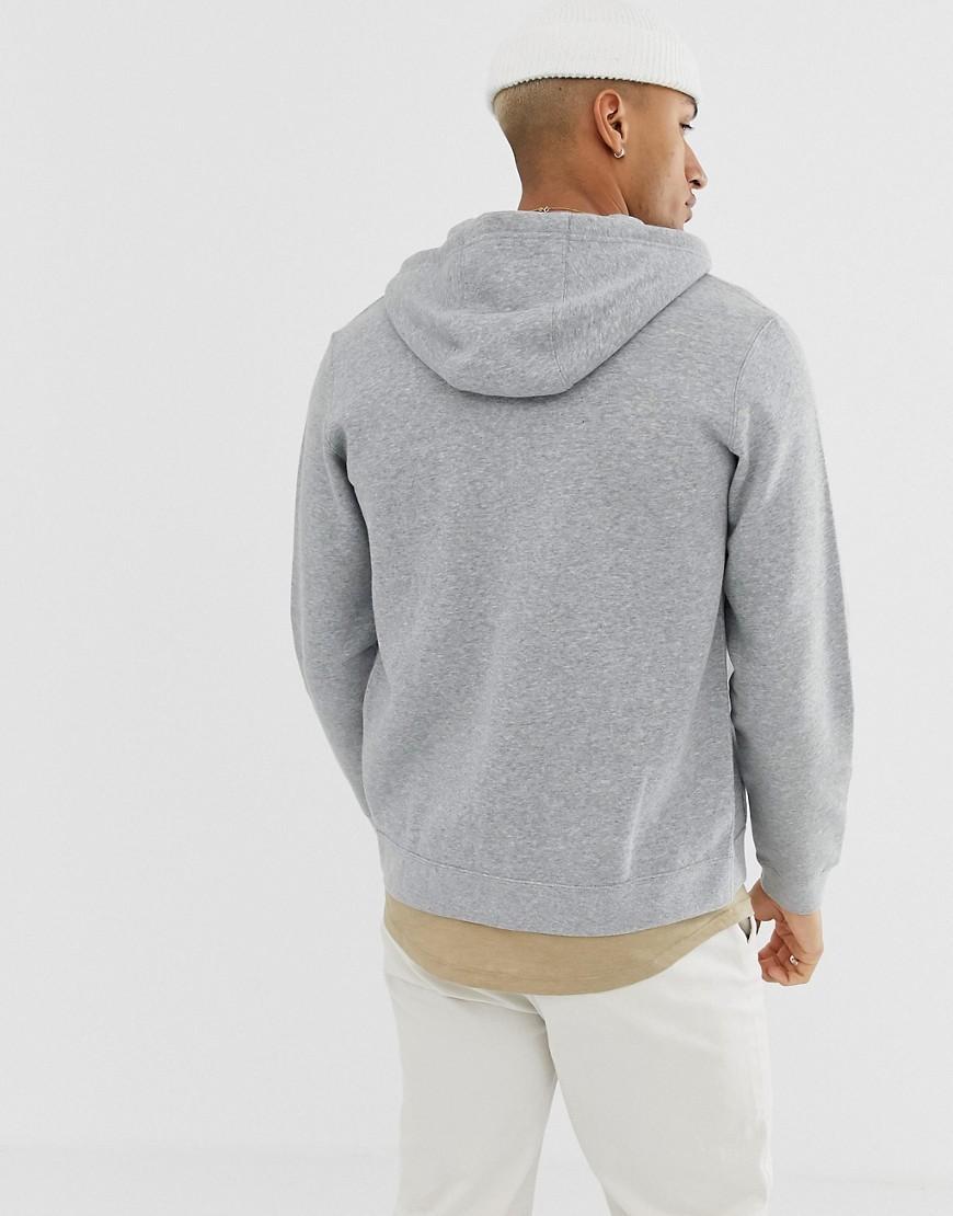 0a46457bca789a Nike Fullzip Hoodie In Grey in Gray for Men - Lyst