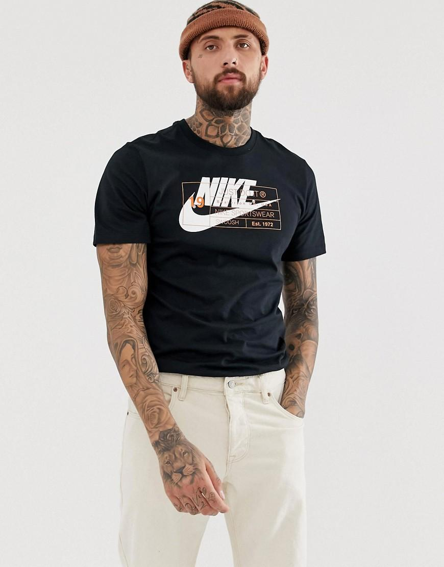 07f7da5b4 Nike - Story Pack T-shirt In Black for Men - Lyst. View fullscreen