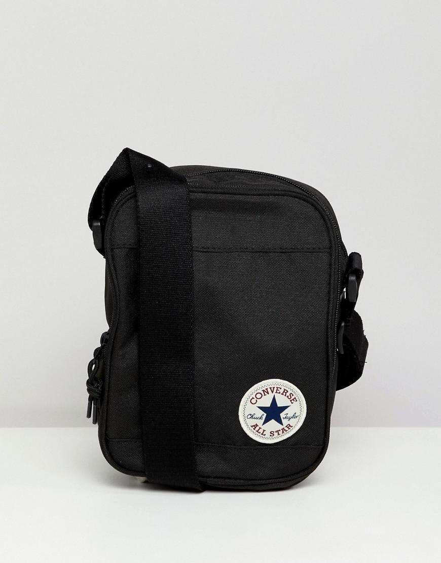 Converse Flight Bag In Black 10003338-a01 in Black for Men - Lyst b4f474822d425