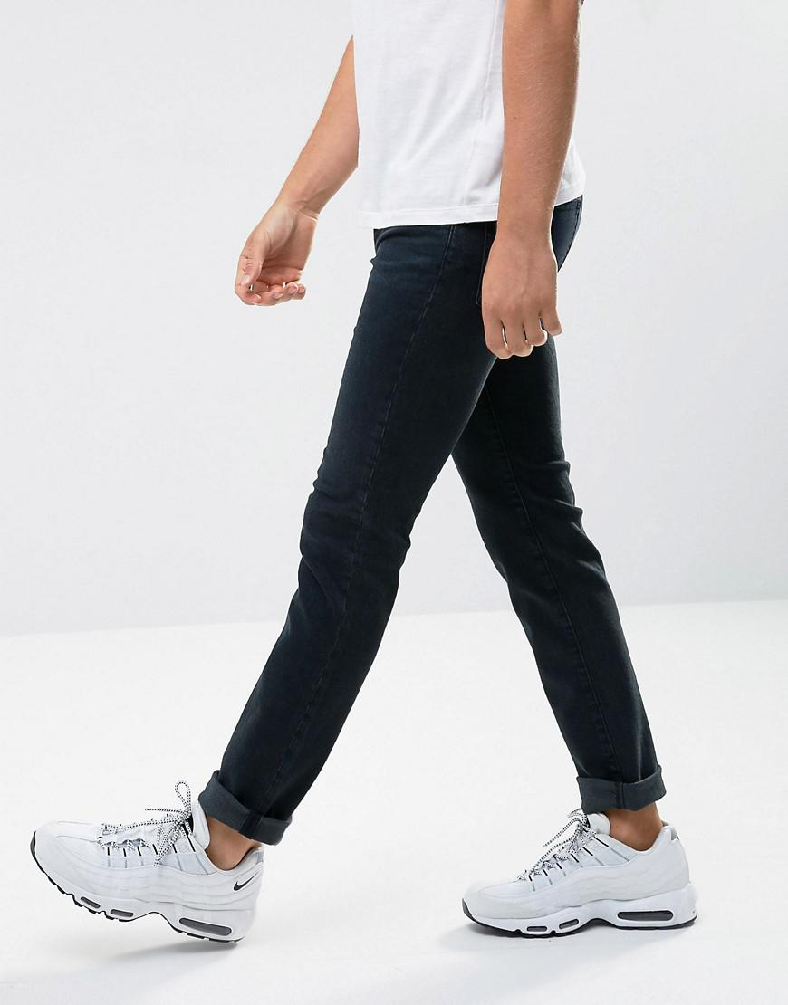 WÅVEN Denim Verner Skinny Fit Jeans In Maria Blue for Men