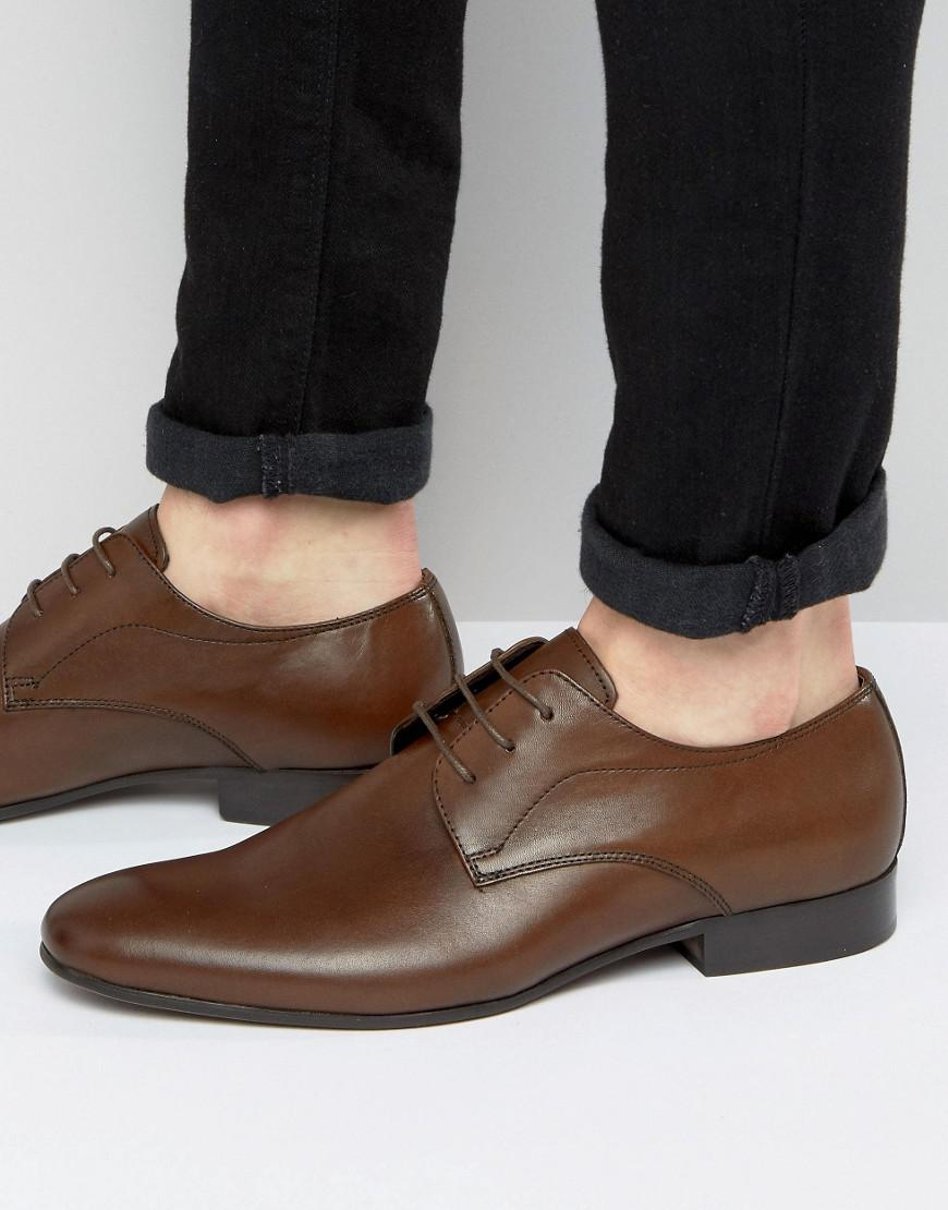 Steve Madden Henson Leather Derby Shoes a0EORbJA