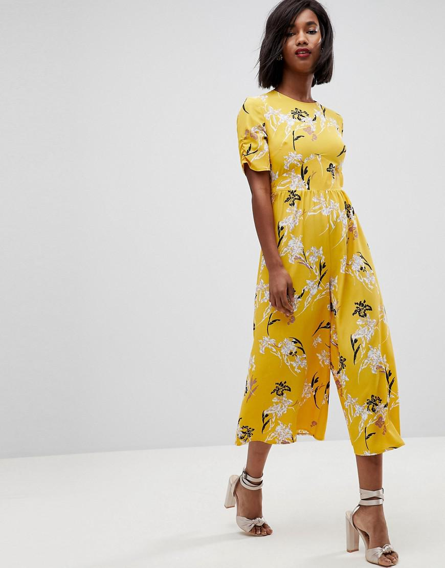 Image result for yellow jumpsuit asos tea