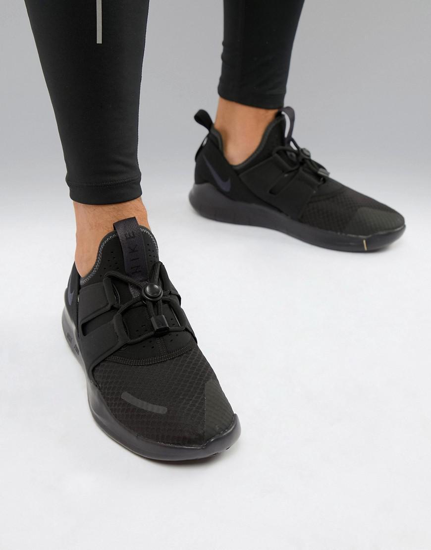 955800a2a02e Nike Free Run Commuter 2018 Sneakers In Triple Black Aa1620-002 in ...