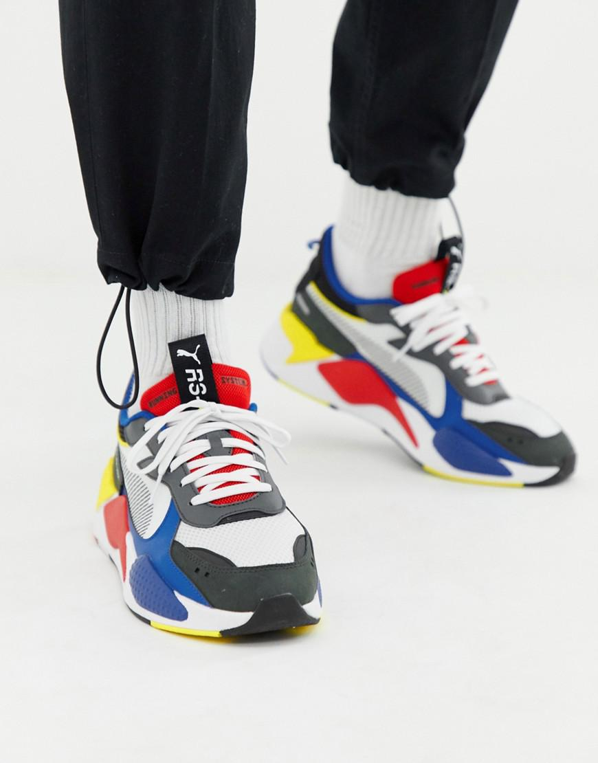 PUMA Leather Rs-x Toys Trainers In