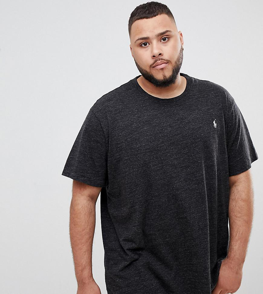 8fb962ece6fb Polo Ralph Lauren. Men s Gray Big   Tall T-shirt Player Logo In Charcoal  Marl