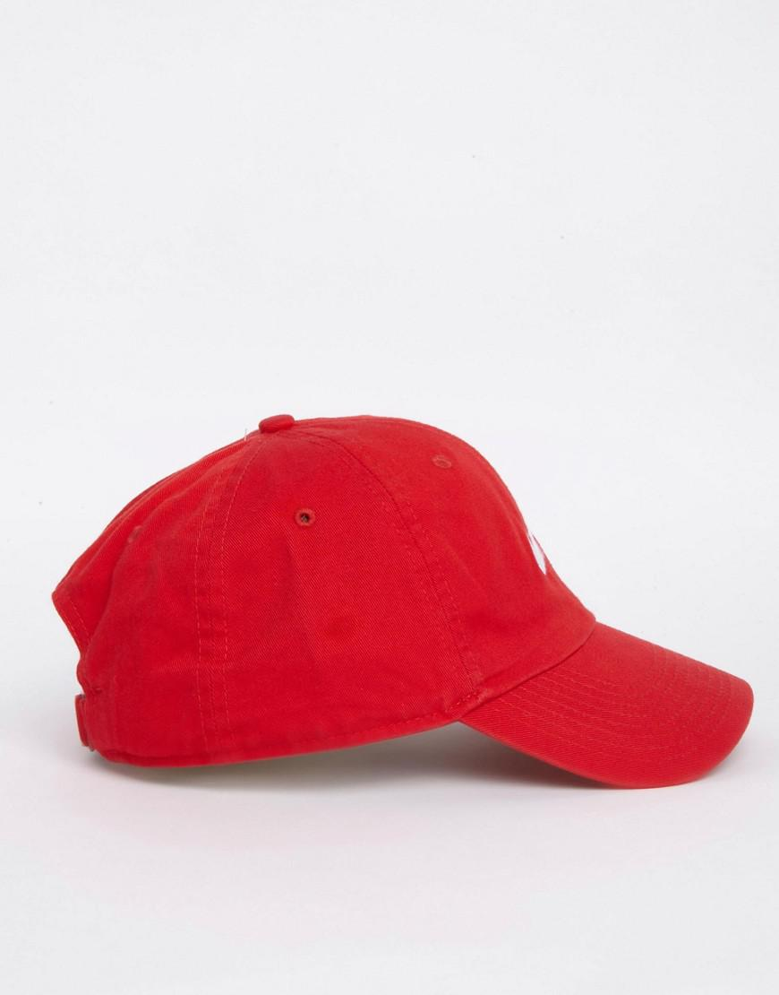0c12ceb42ff Nike Swoosh Cap In Red 546126-658 in Red for Men - Lyst
