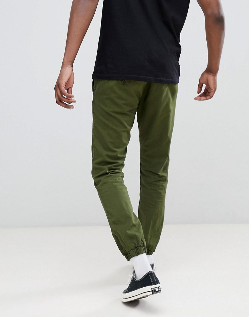 Lyst - Pantalon de jogging chino avec ourlet resserr Esprit pour homme en  coloris Vert 87b1c88c5b7
