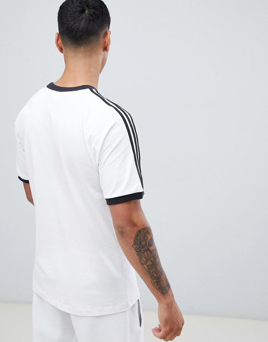 48aa67668e adidas Originals Adicolor California T-shirt In White Cw1203 in White for  Men - Lyst