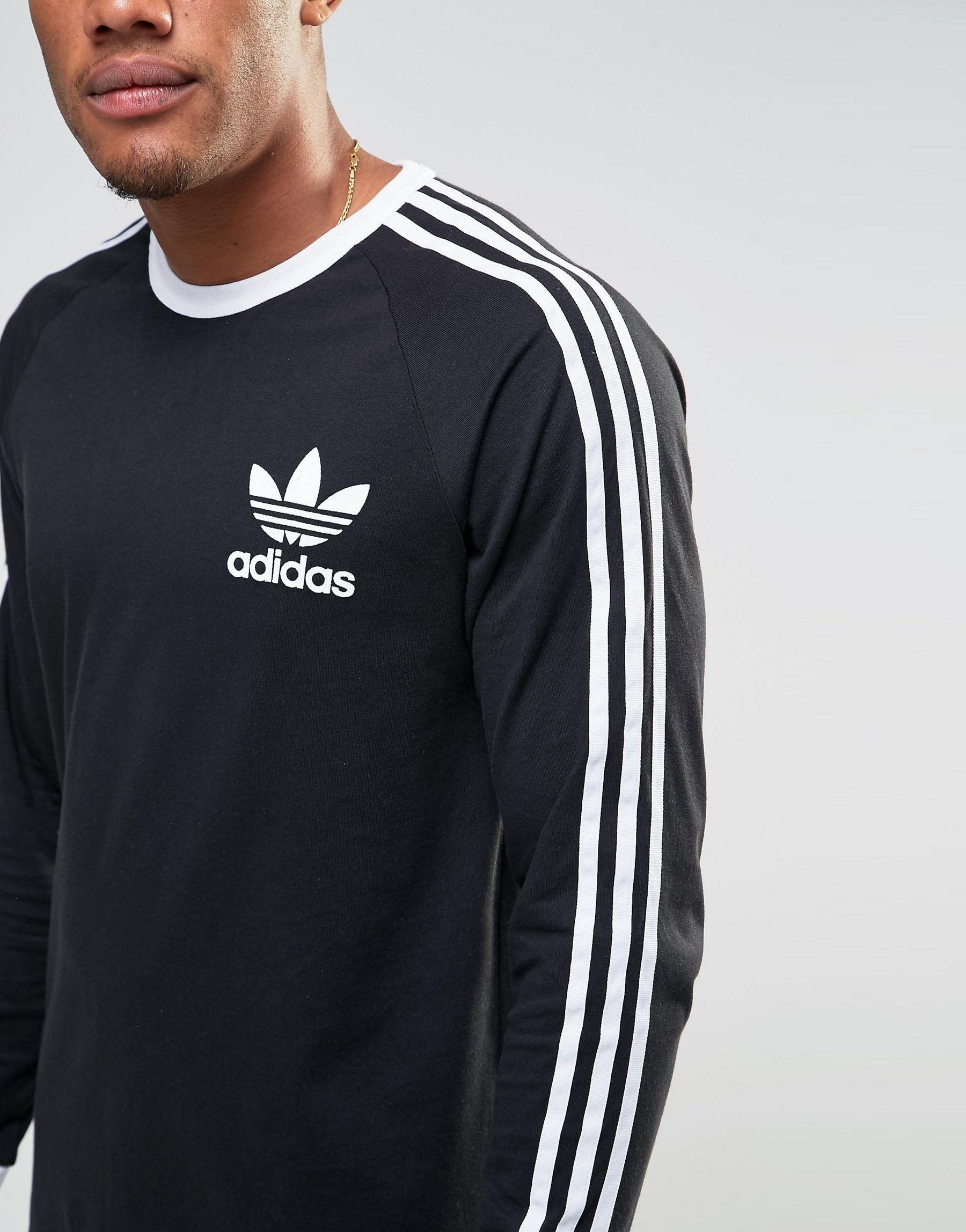 Exclusive Men Adidas Originals Adicolor Longline Long Sleeve