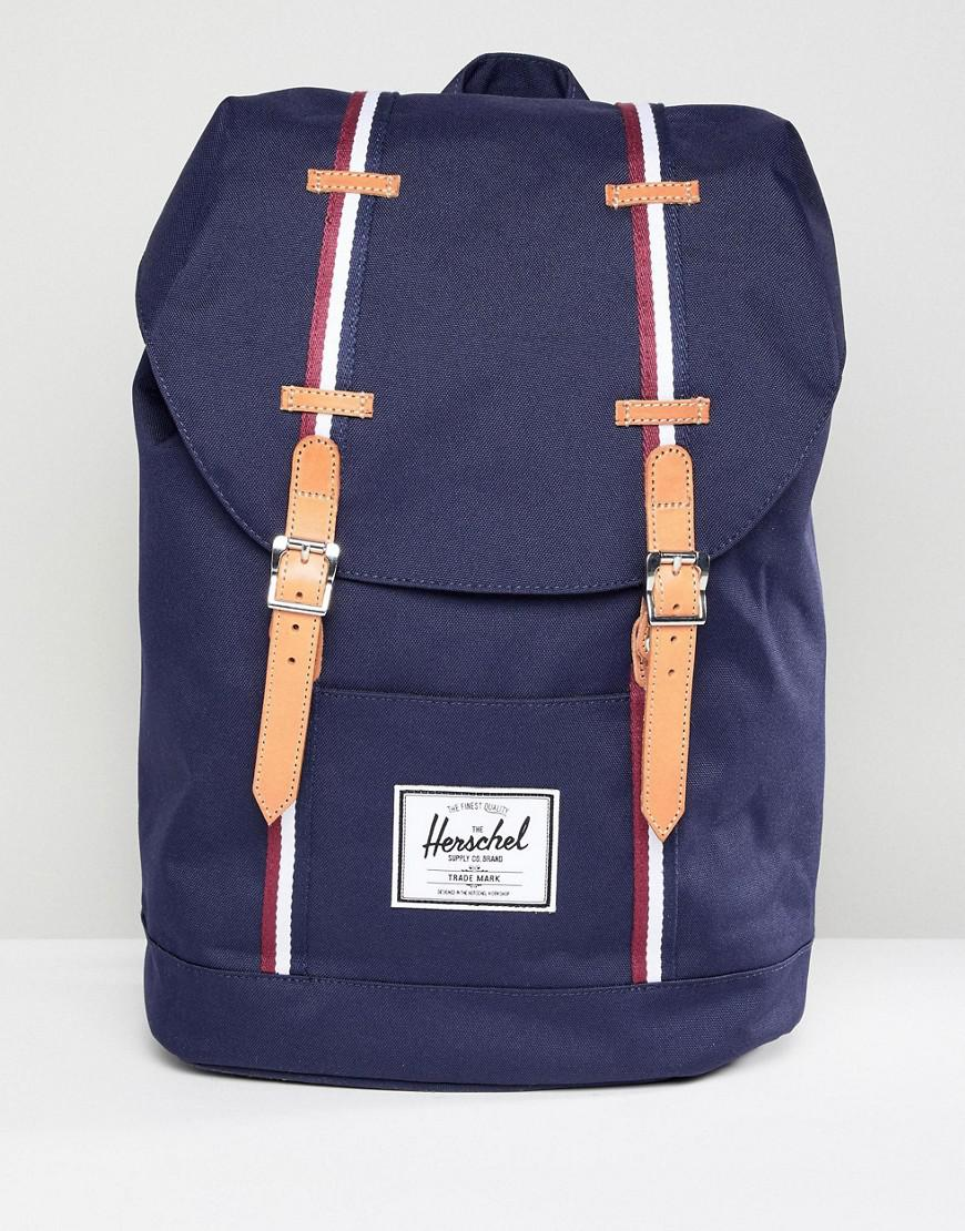 3da0da85622b Herschel Supply Co. Retreat Offset Backpack 19.5l in Blue for Men - Lyst