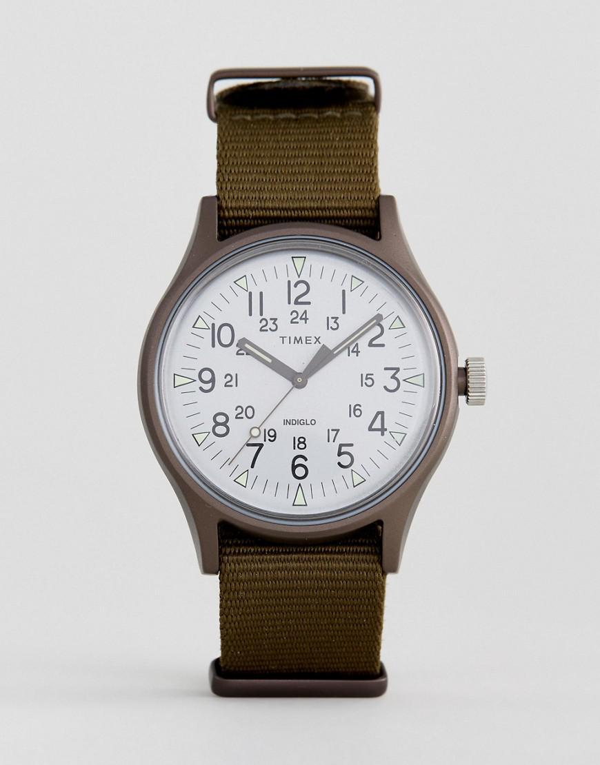 Lyst - Timex Mk1 Aluminium Watch In Green in Green for Men