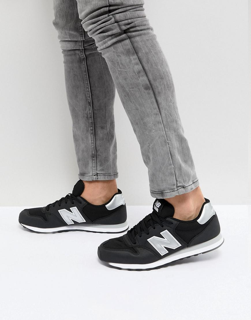 new balance 500 noir et or