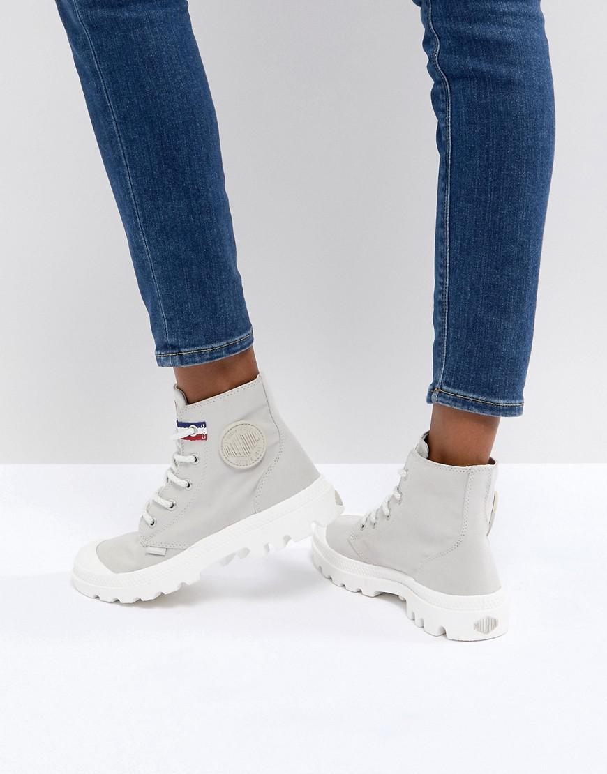 Palladium Pampa Hi Rive Gauche Flat Ankle Boots