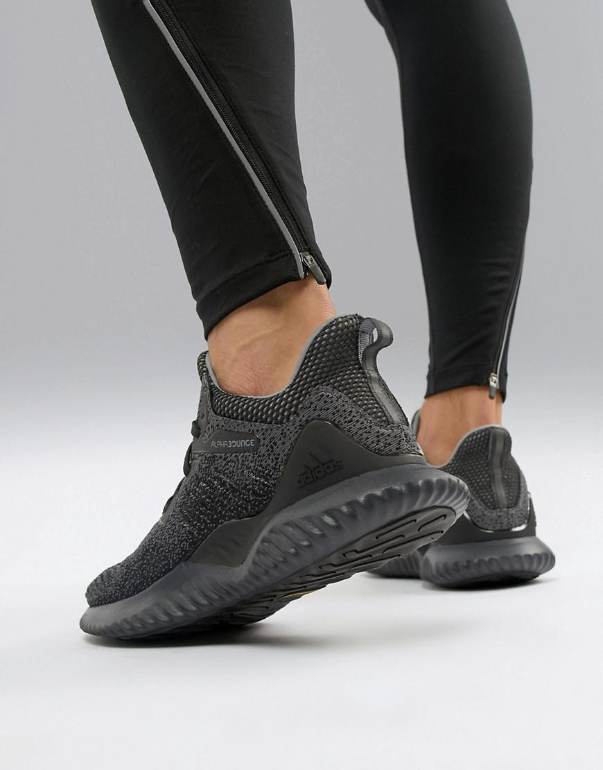 Alphabounce Beyond Sneakers In Black Aq0573