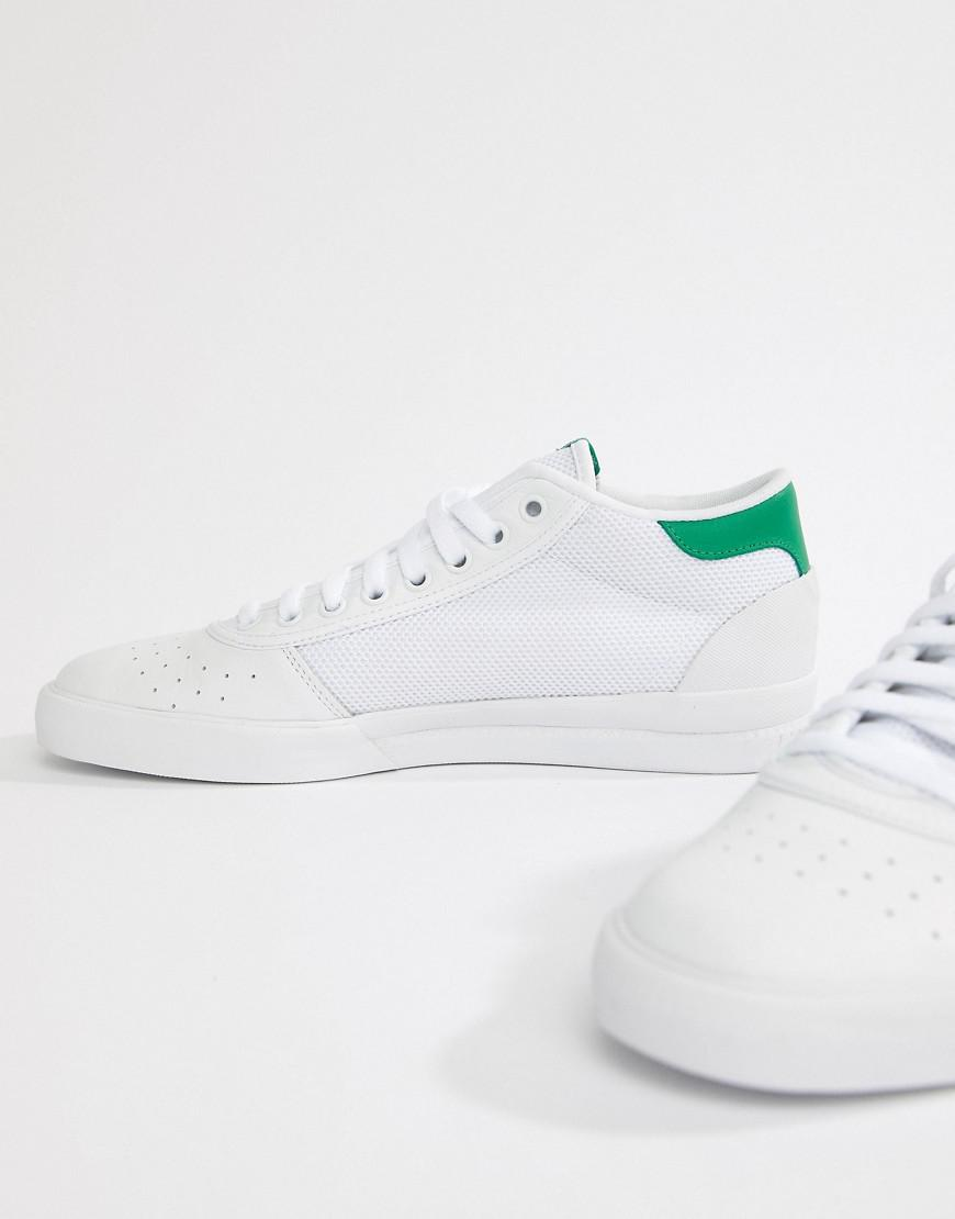 low priced 0aba8 1885d Lyst - adidas Originals Adidas Originals Lucas Premiere Mid Trainers In  White B22742 in White for Men