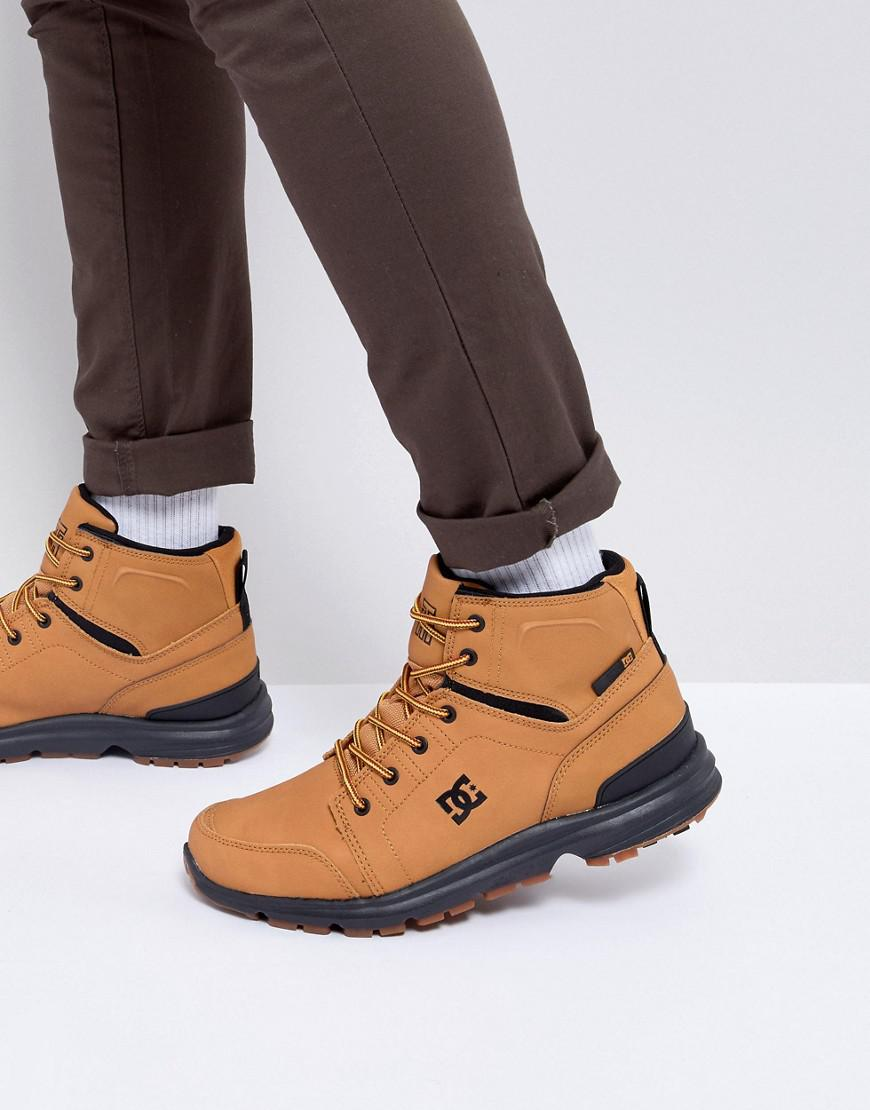 DC Shoes Flannel Torstein Boots in Tan