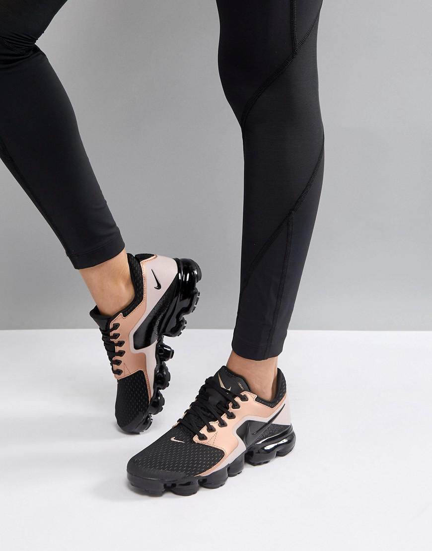 Nike Vapormax Black And Rose Gold