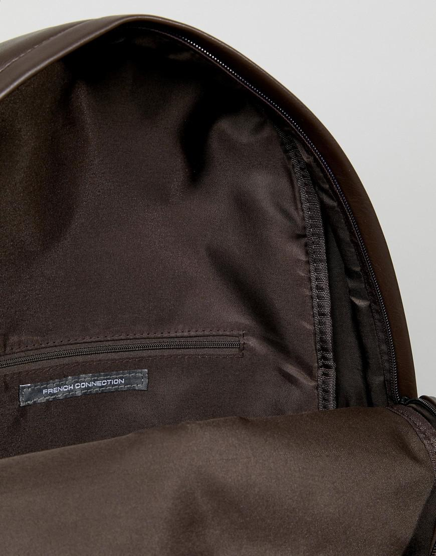 French Connection Backpack In Brown for Men