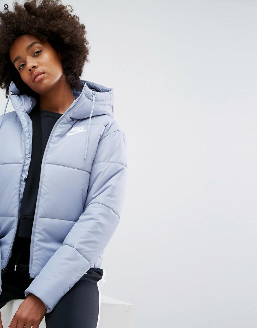 baby blue nike puffer jacket outlet