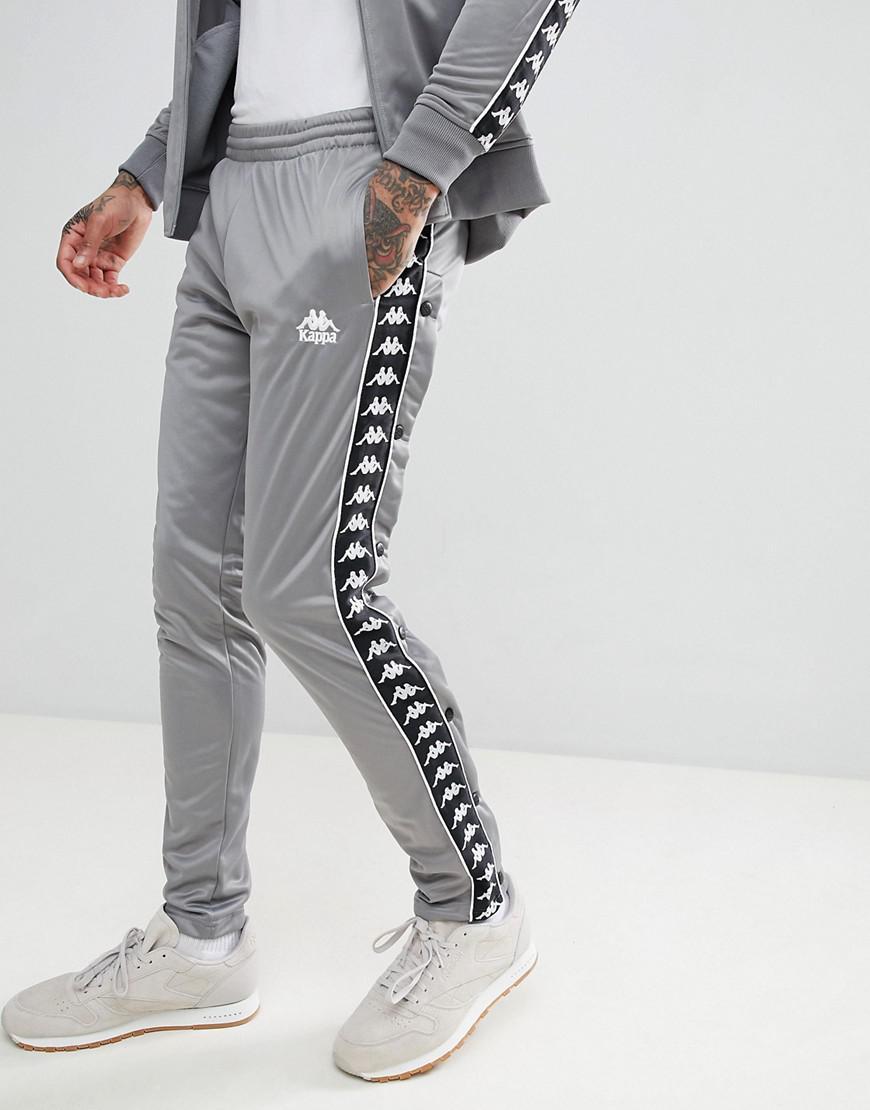 klassinen tyyli kuponkikoodit Yhdysvallat Joggers With Side Taping In Gray