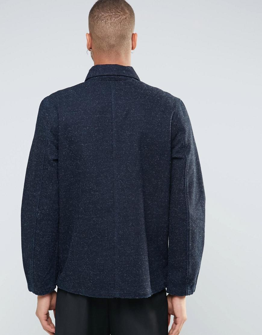 Weekday Multi Denim Jacket Dark Blue for Men