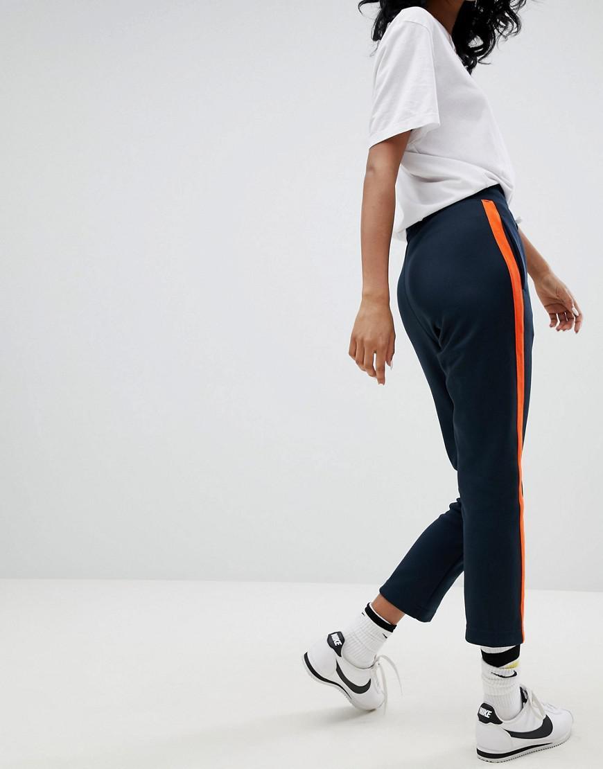 Lyst - Pantalon de jogging en maille polyester Nike en coloris Bleu 2ad868f6e70