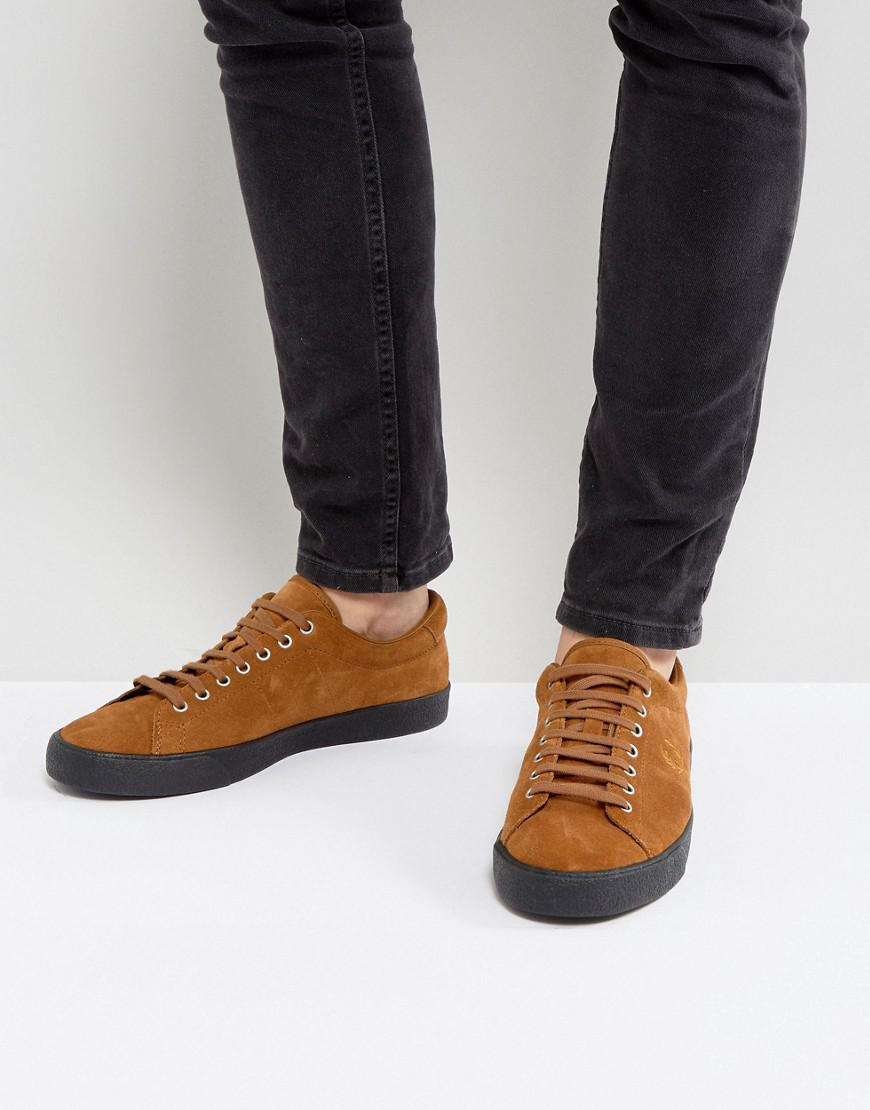 Fred Perry Underspin Suede Crepe