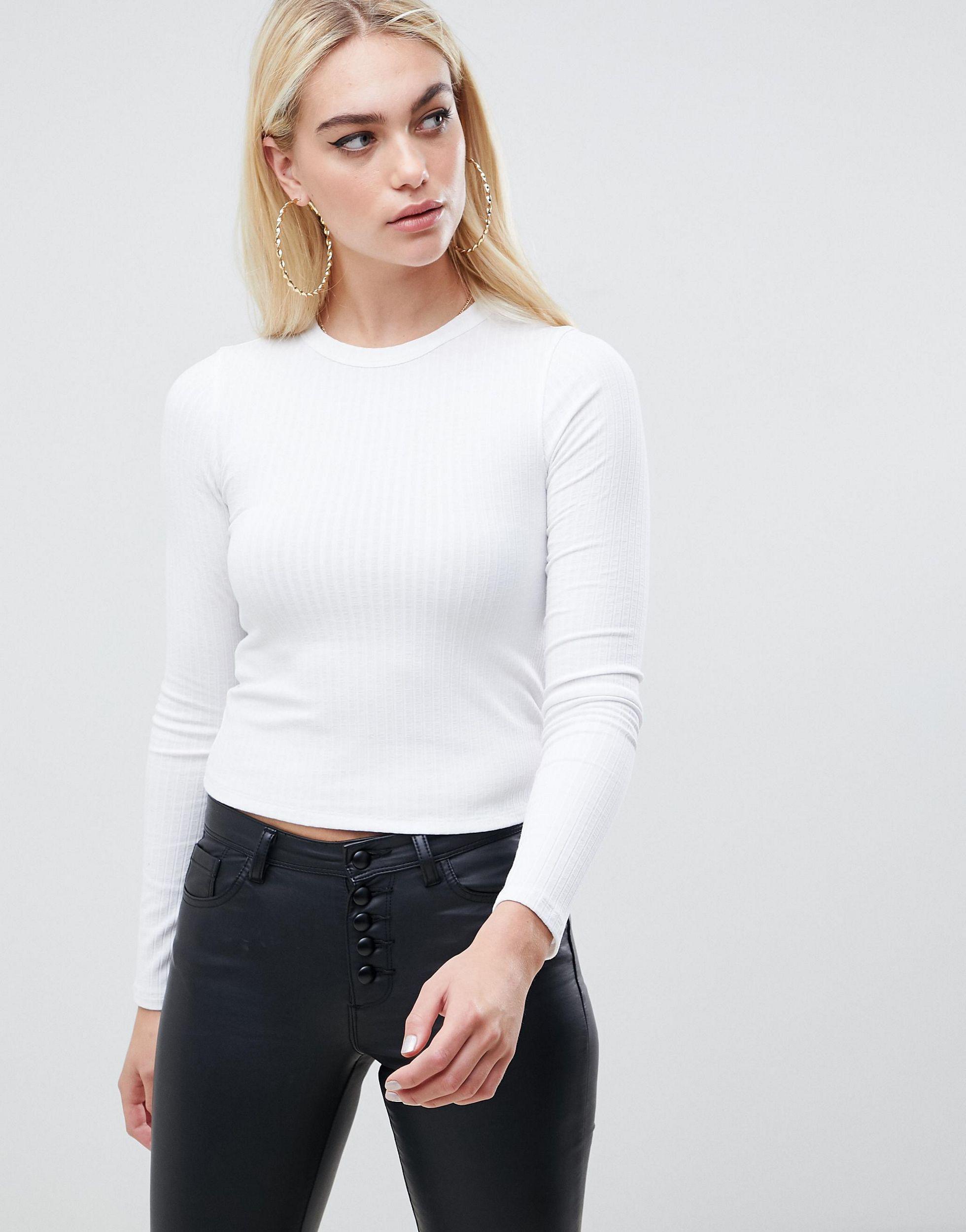Camiseta ASOS de Denim de color Blanco