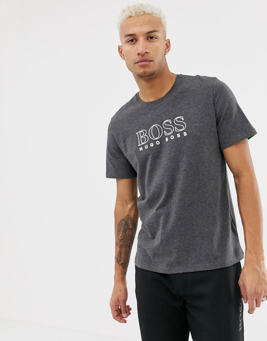bcc38c5cf BOSS Bodywear Cosy Logo T-shirt in Black for Men - Lyst