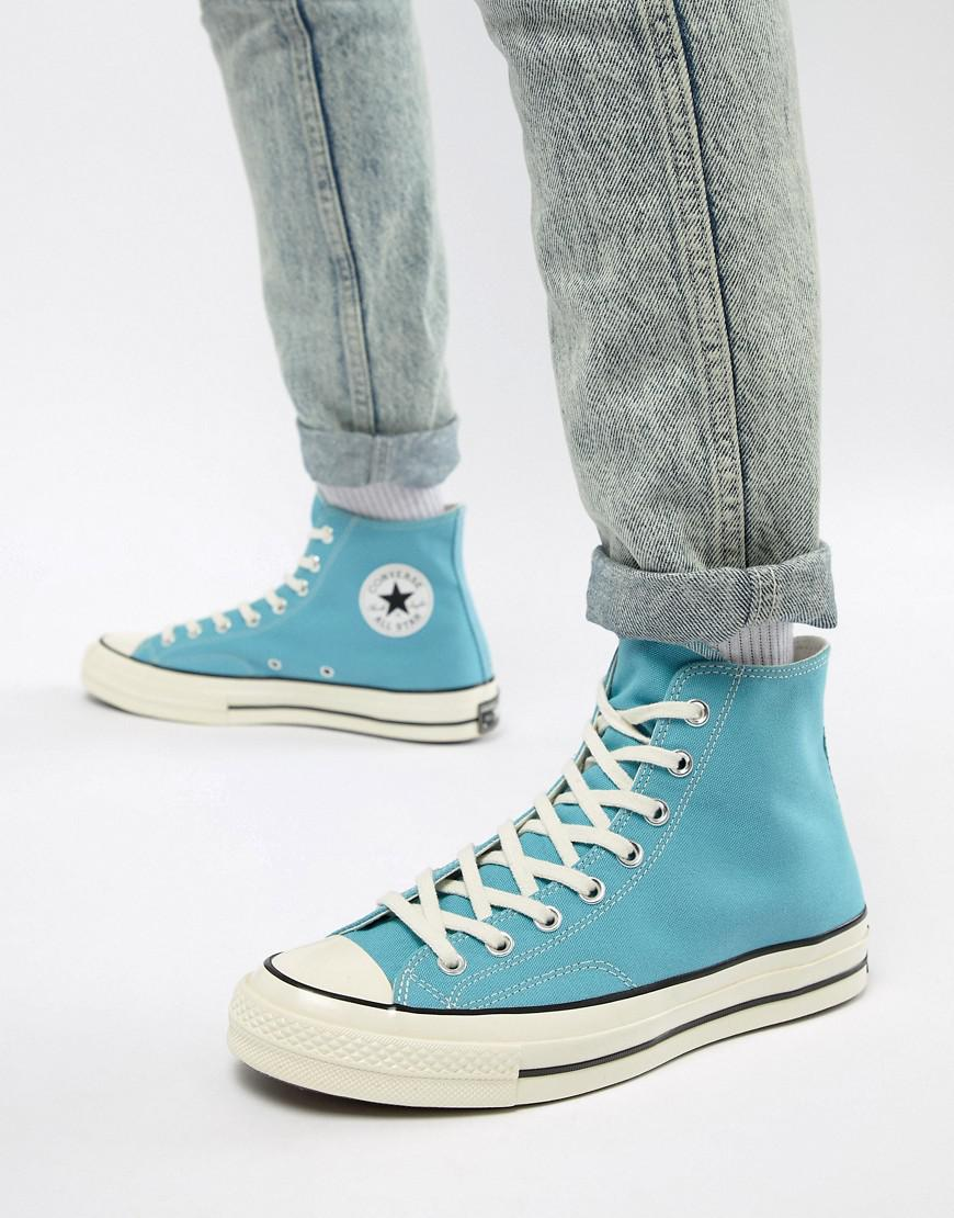 a18c377449 Lyst - Converse Chuck Taylor All Star  70 Hi Trainers In Blue ...