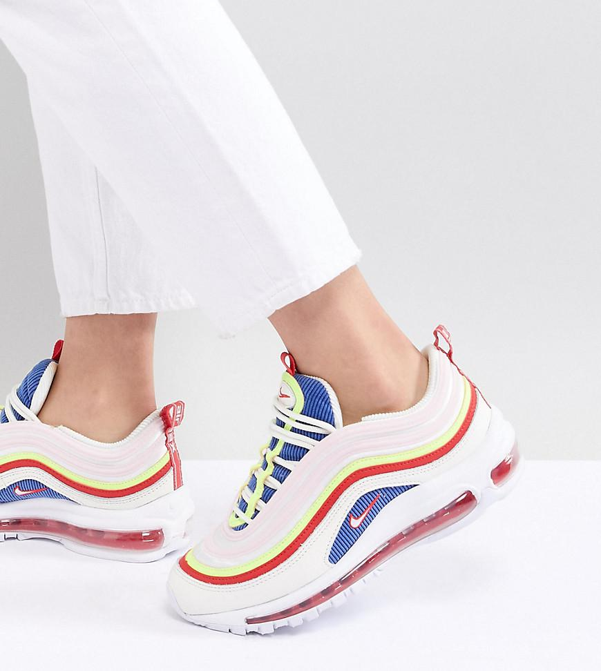 Nike Air Panache Max Pack White 97 Trainers 2EH9ID