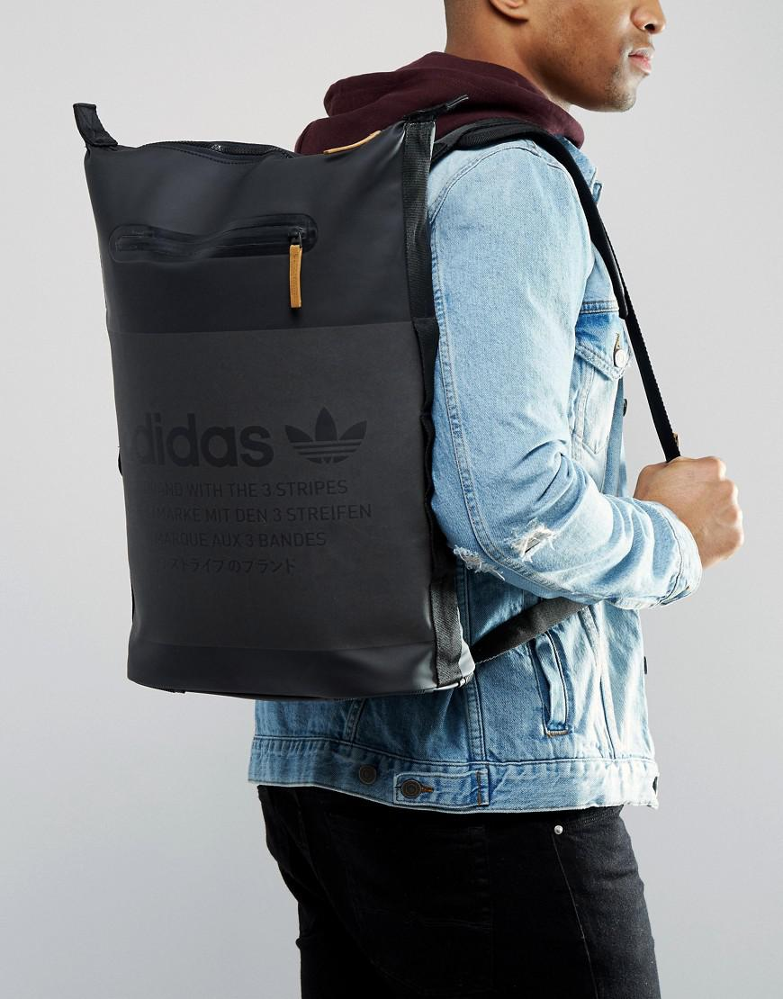 best cheap 1a71f 60006 adidas Originals Nmd Backpack In Black Bk6737 in Black for Men - Lyst