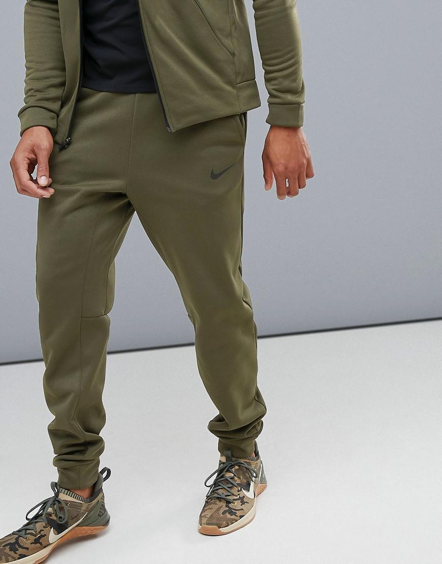 nike joggers olive green
