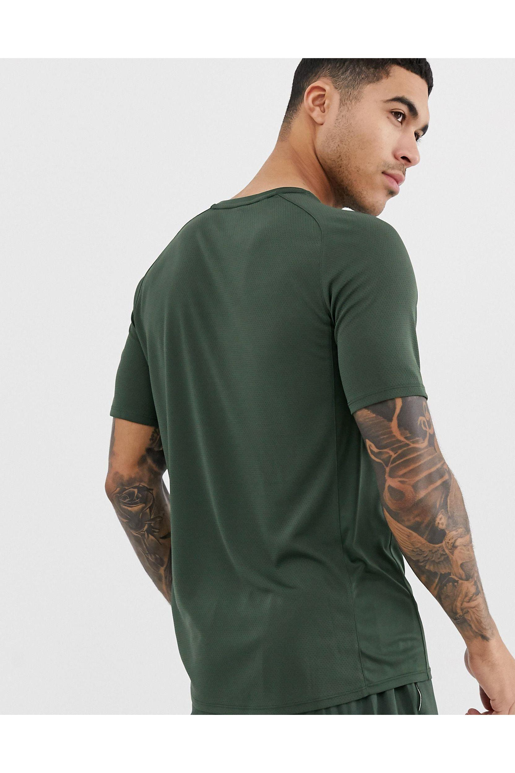 Canterbury Wol Canterbury - Vapodri - T-shirt in het Groen voor heren