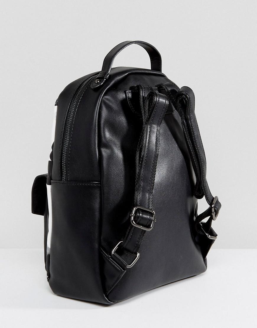 71b1e4ddac4e ... Lyst - Claudia Canova Floral Print Backpack in Black big sale 516d2  cb9a8  adidas - Originals ...