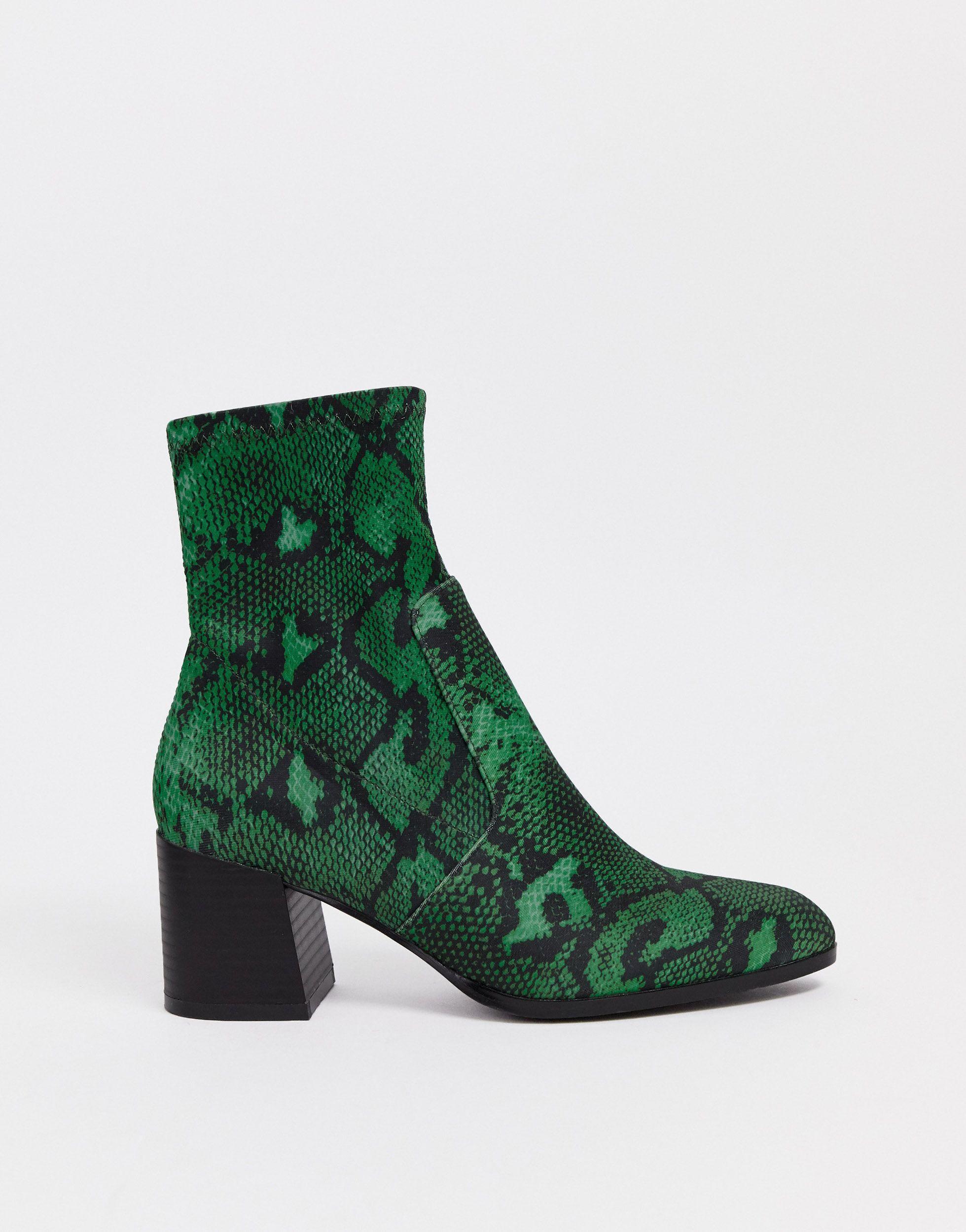 Botas ASOS de Neopreno de color Verde