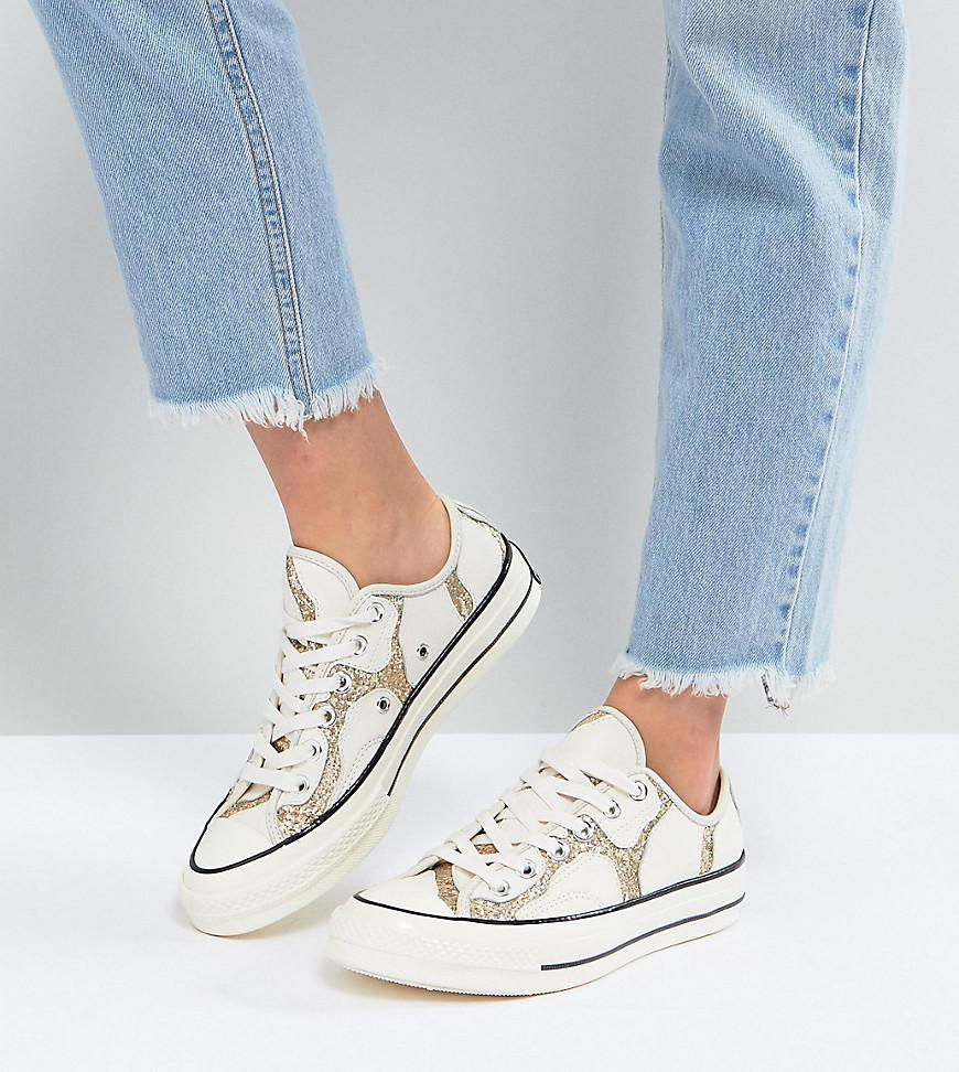 Clearance New Styles Outlet Find Great Chuck 70S With Glitter And Leather Upper - Multi Converse 85AB4JcN