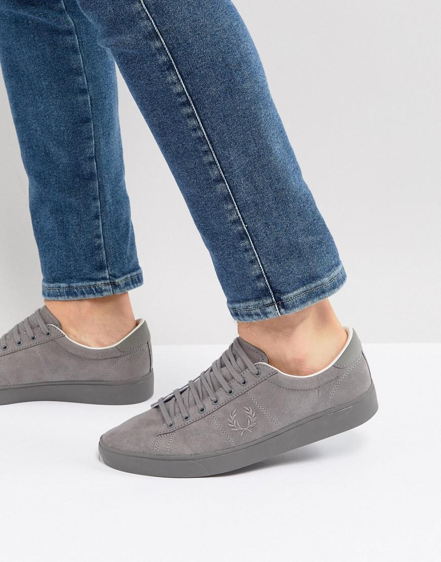Fred Perry Specner Microfibre Sneakers In HPpMfx