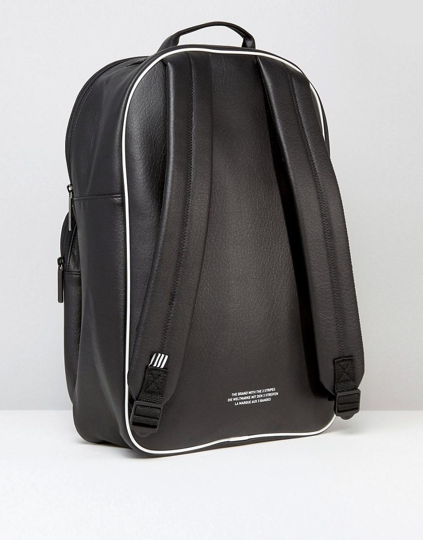 adidas Originals Retro Backpack In Black Bk2108 for Men